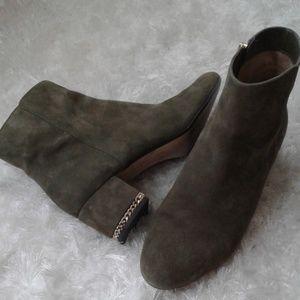 Michael Kors Sabrina ankle boots Size 9 olive